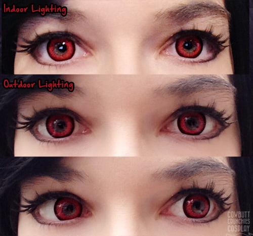 adora red eyes