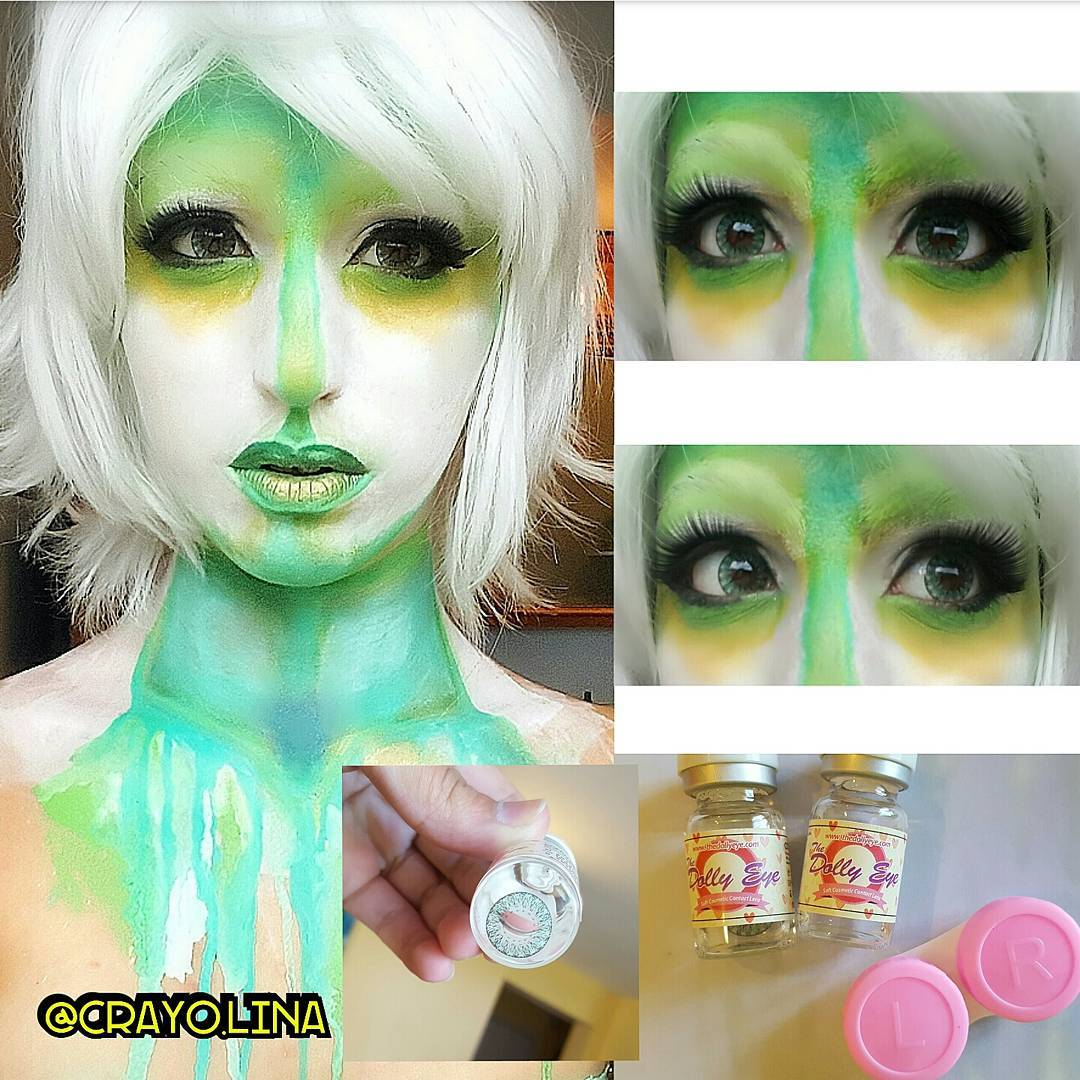 crayon green