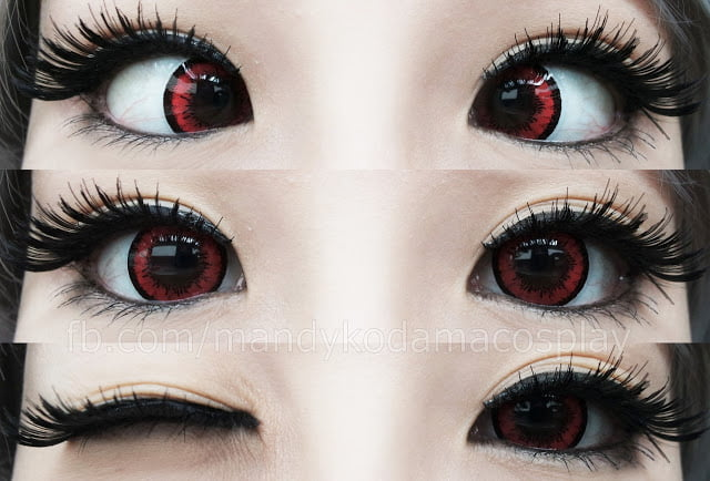 Lens Story Dolly Red Uniqso