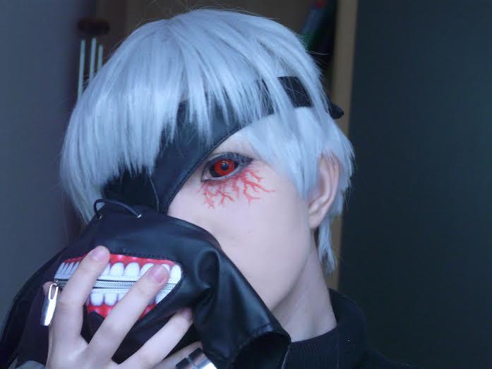 Kaneki Cosplay with Tokyo Ghoul Lenses & Mask - UNIQSO   697 x 523 jpeg 22kB