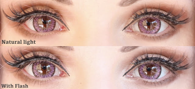 pure grape eyes