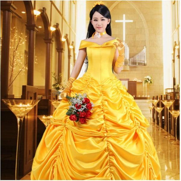 Belle cosplay costume