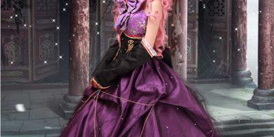 Megurine cosplay costume
