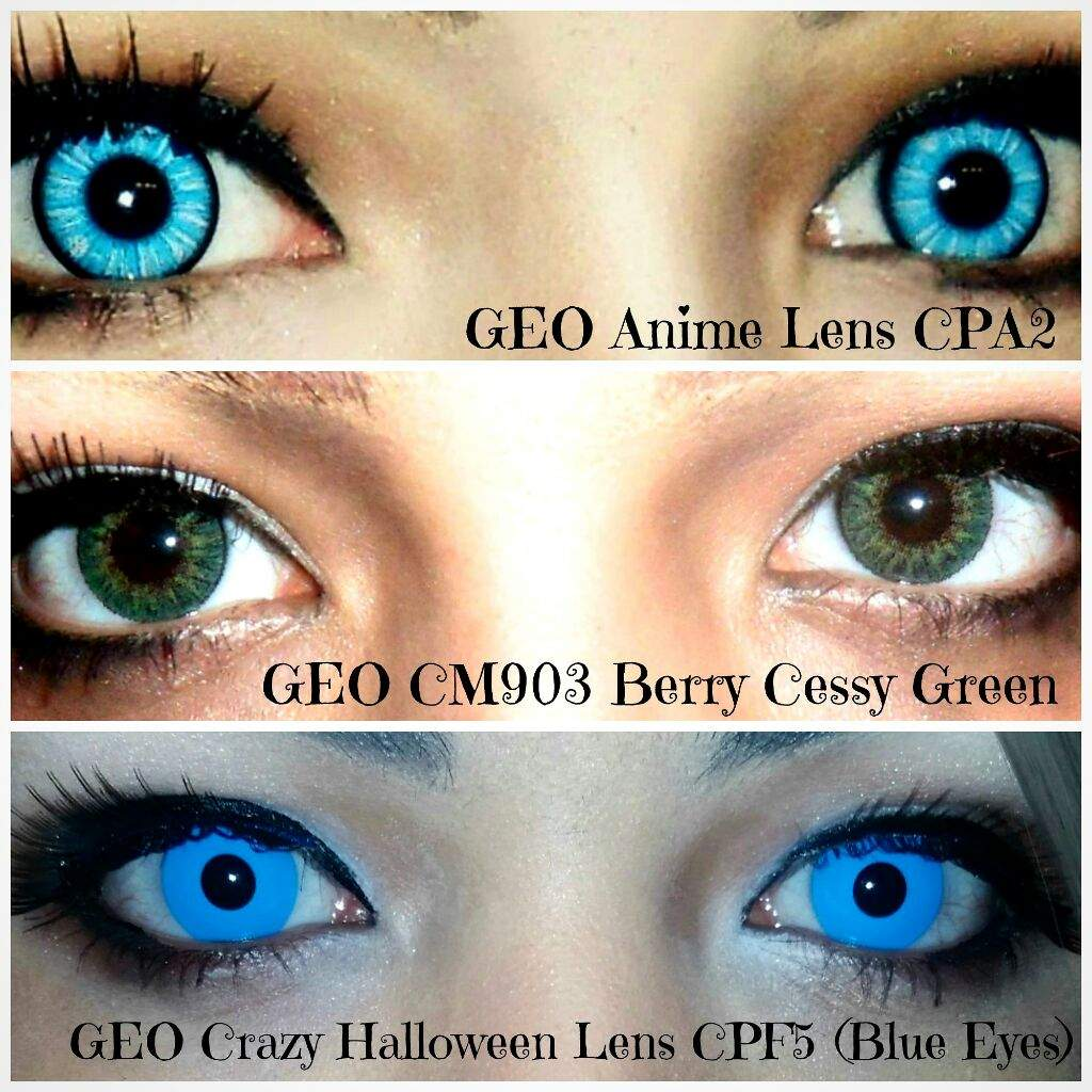 crazy Halloween contacts