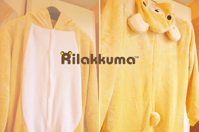 Drying a Kigurumi