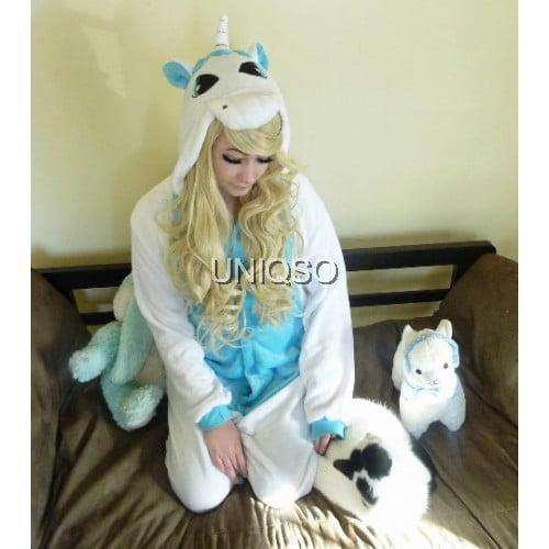 blue unicorn kigurumi