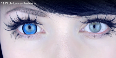 Dolly colored contact lenses