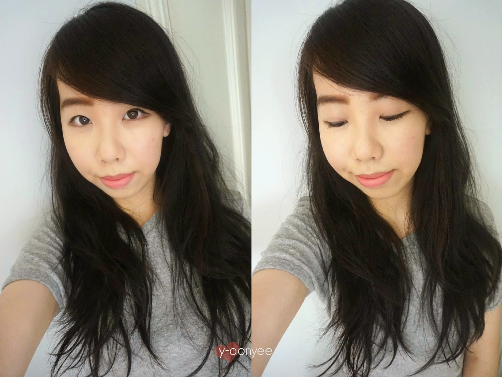 Girl wearing Korean makeup