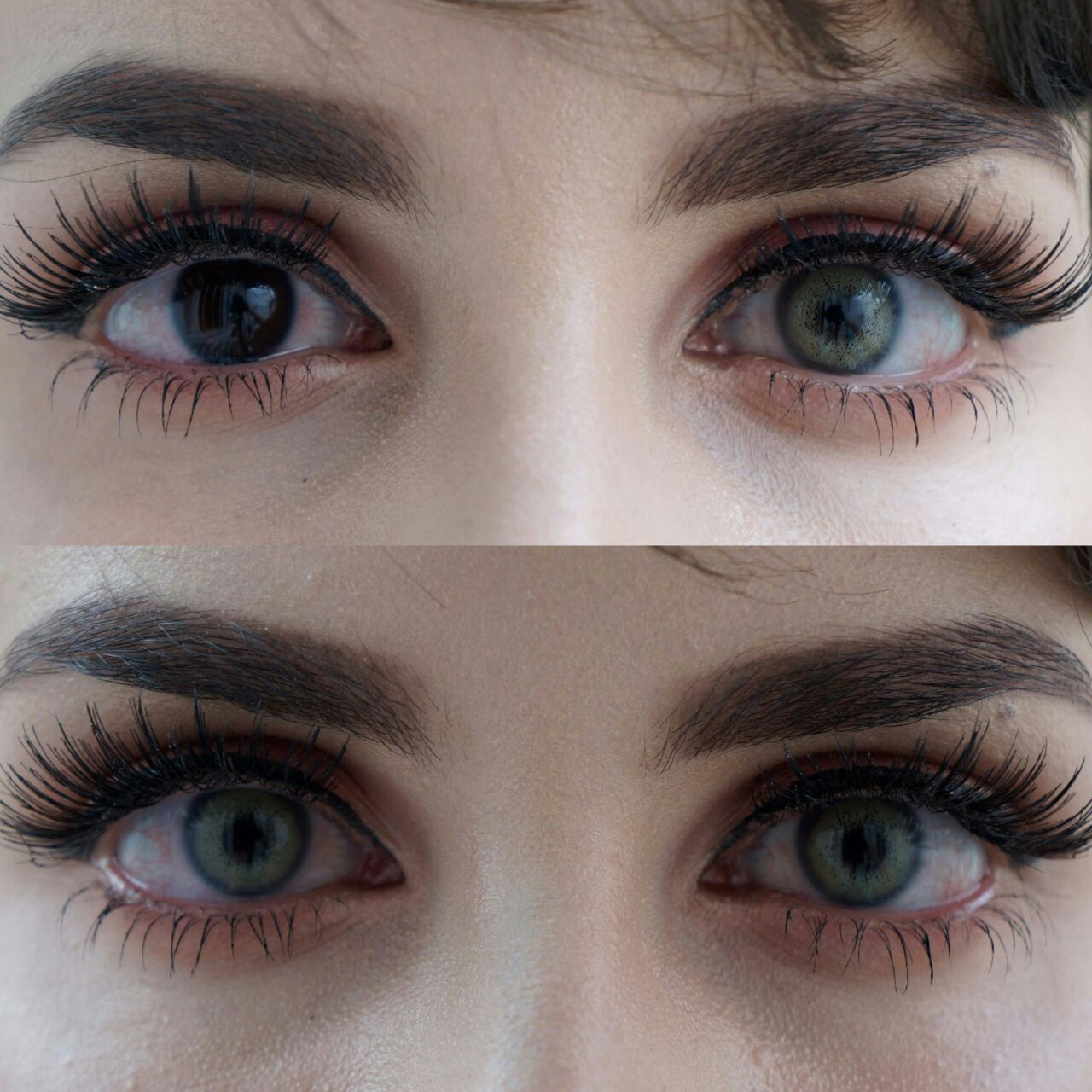 Most Natural Looking Contacts for Dark Eyes — UNIQSO