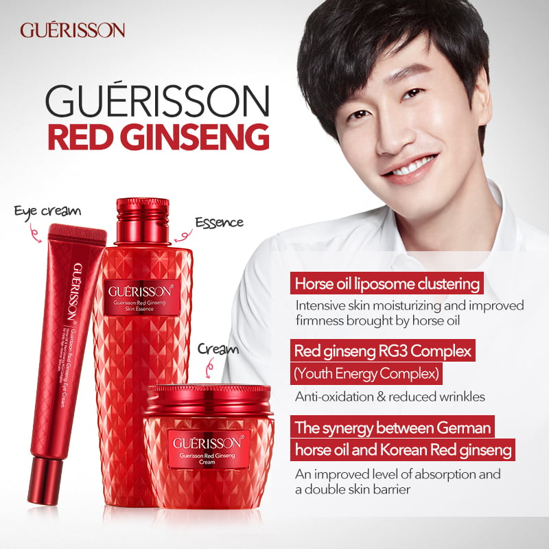 Red Ginseng Korean Skin Care Range by Guerisson