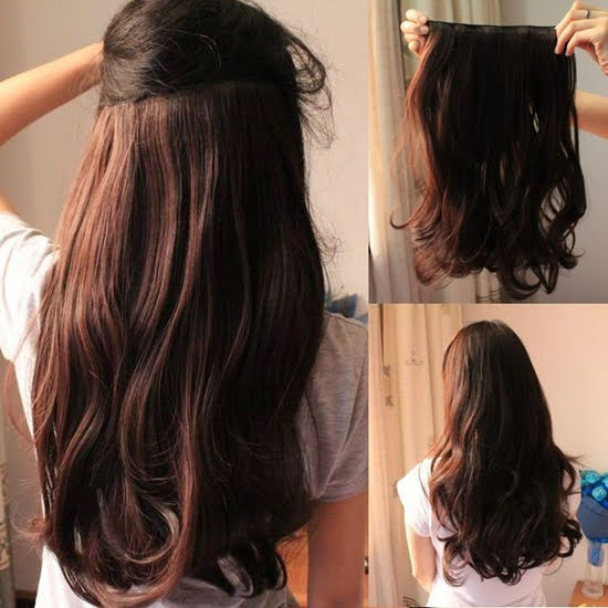 how to help clip-in hair extensions blend with your natural hair?