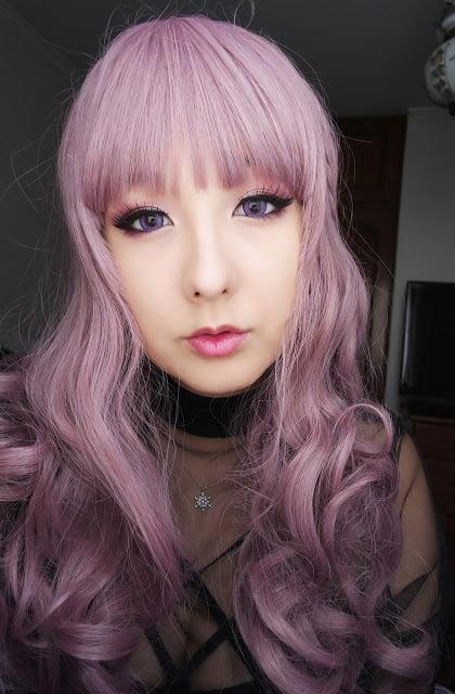 EOS Fay violet circle lenses