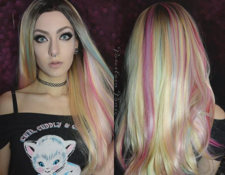 Unicorn Lace front wig deluxe
