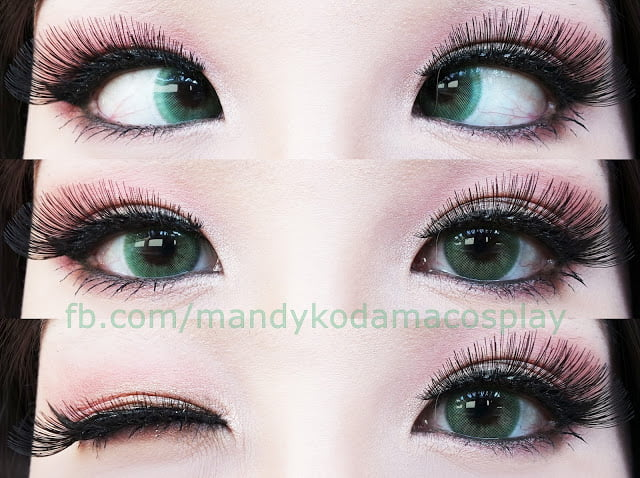 Natural Green Contacts For Brown Eyes Uniqso