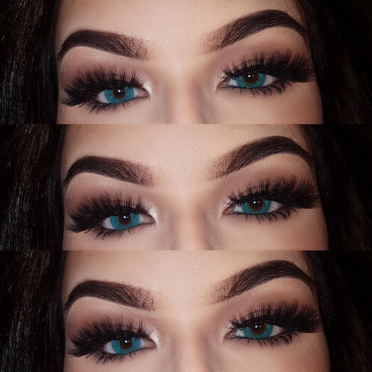 Bright Yet Natural Turquoise Contacts