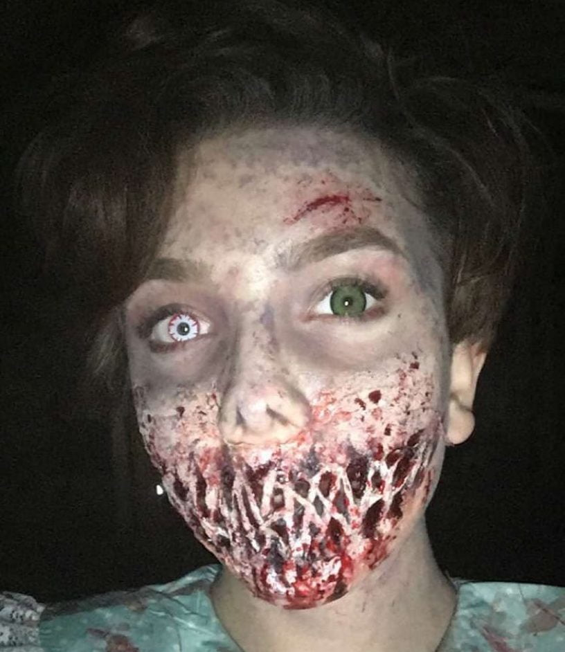 Sweety White Demon Halloween Contacts