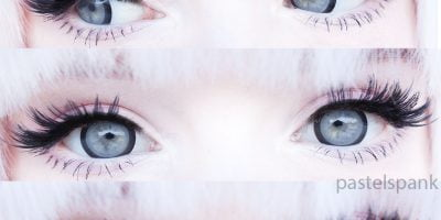 grey WIA25 contact lenses