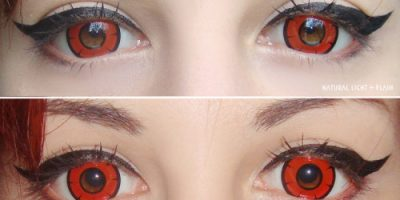 lens story twilight red contacts
