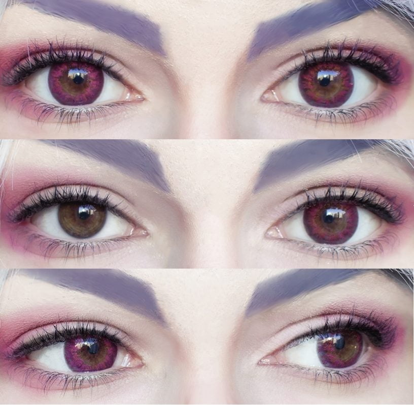 sweety honeydew pink lenses