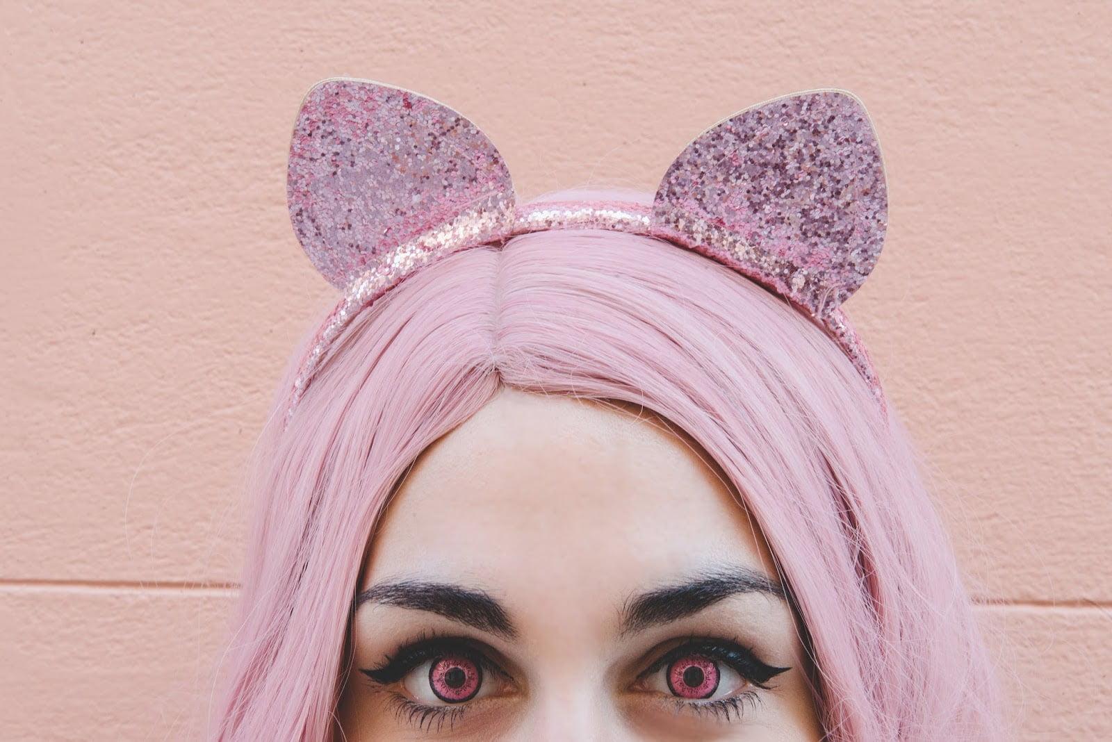 Dolly Eye Dolly Eye pink lenses