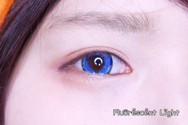 Urban Layer Galaxy blue lenses