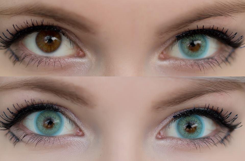 Sweety Ocean blue lenses