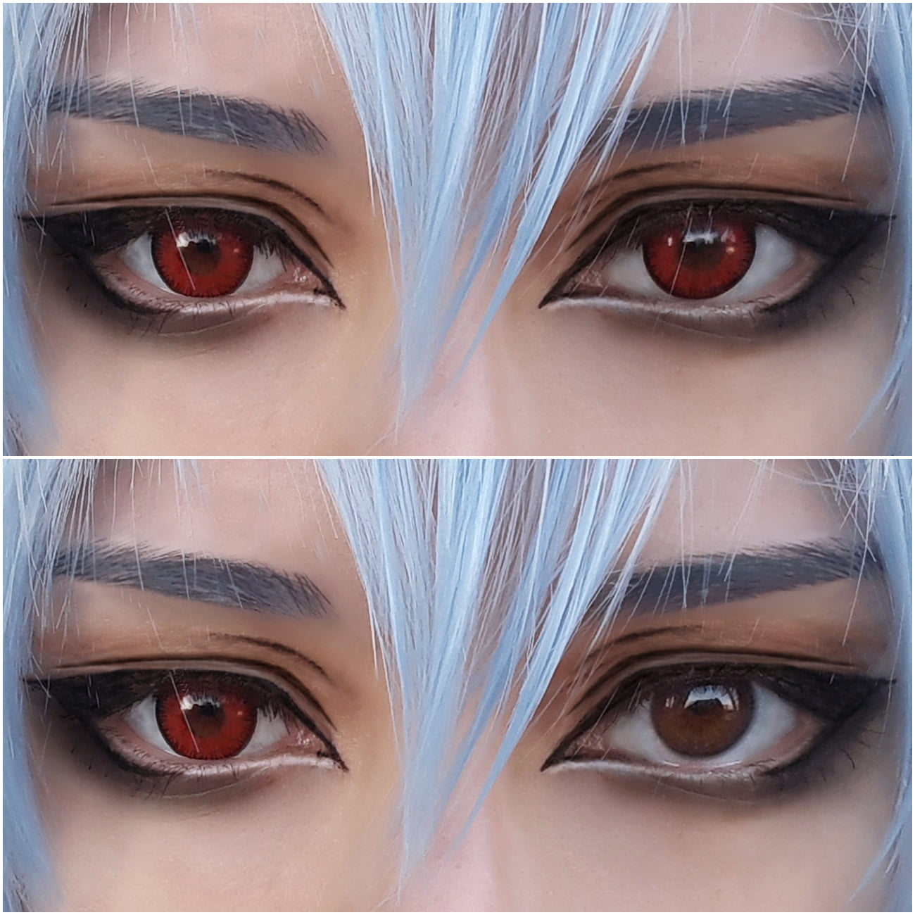 Sweety Candy red lenses
