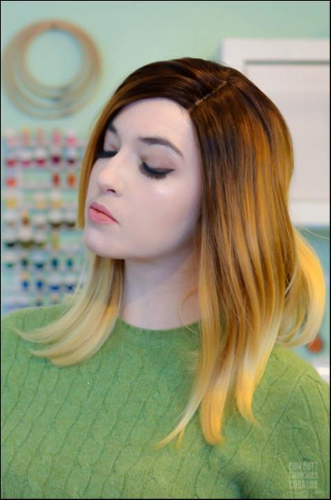 Can I Dye my Synthetic Lace Front Wig? - UNIQSO