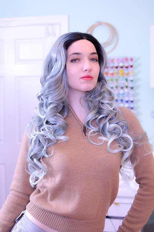 Reverse Balayage Lace Front wig