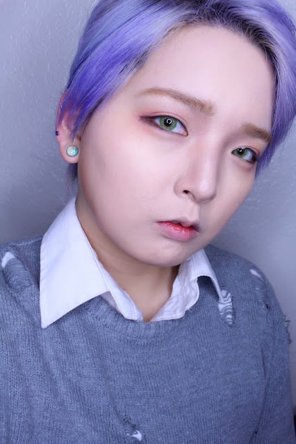 Sweety Ocean green contact lenses