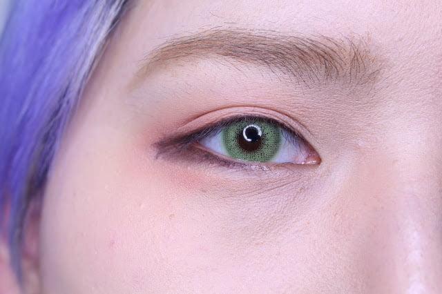 Sweety Ocean green eyes