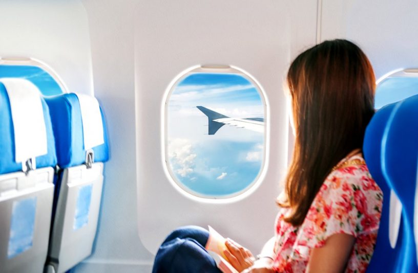 long haul flight travelling with skin care products
