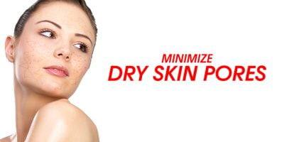 antiaging skin care : Large pores on dry skin