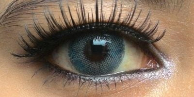 Nobluk Ring blue contact lenses