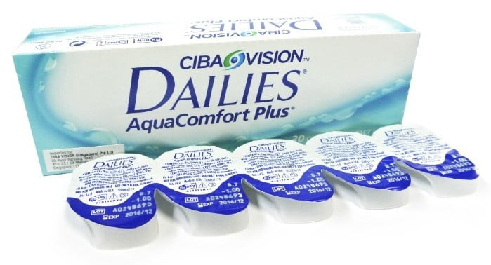 Daily Disposable Clear Contact Lenses