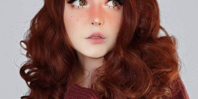 Lace Front Burnt Cocoa wig