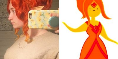 Flame Princess Wig