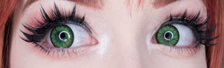 Sweety Candy Green Contacts