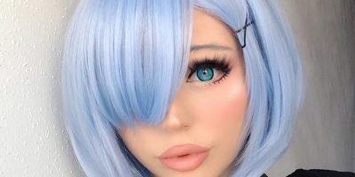 Zero Rem Cosplay wig