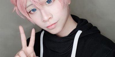 Shiro cosplay wig