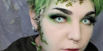 white cosplay contacts