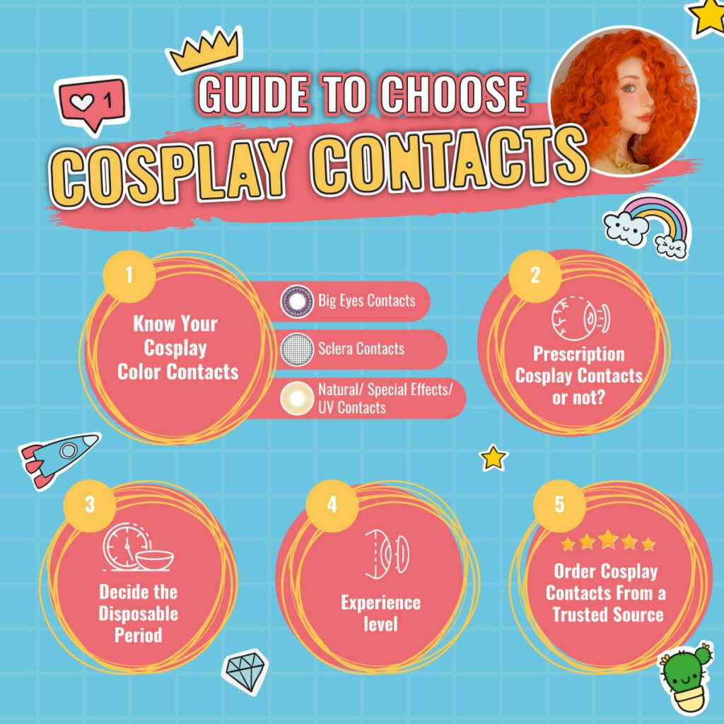 Guide To Choose Cosplay Contacts