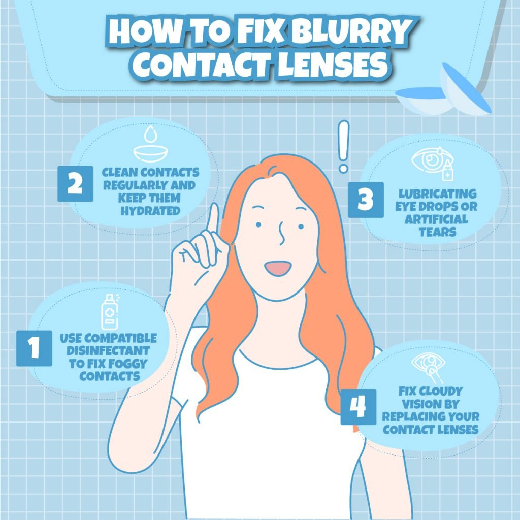 How to Fix Blurry Contact Lenses