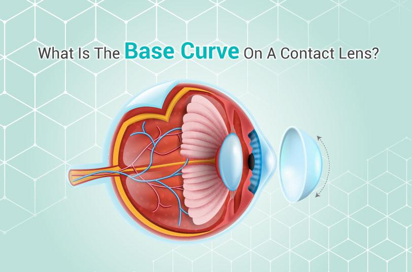 contact lens base curve