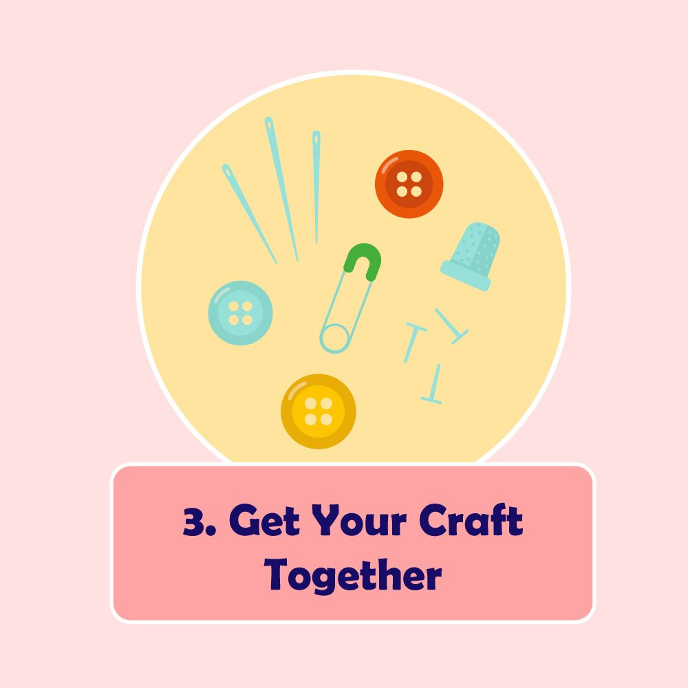 They're one of the best ways to keep really tiny supplies such as beads, sequins, pins, tiny hooks, and so much more.