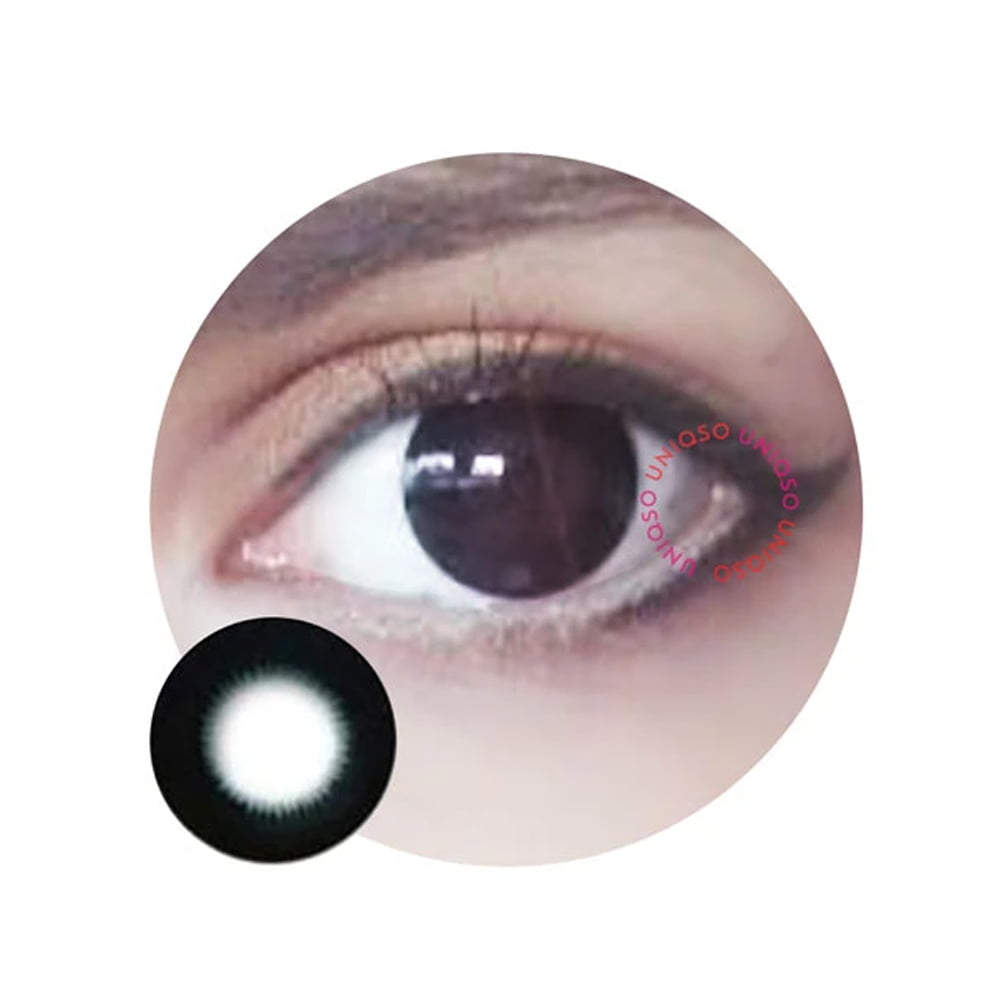 Barbie Pearl Black. Best coloured contacts for dark eyes.