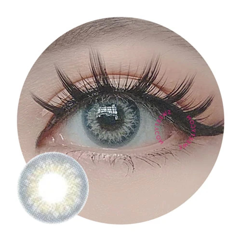 Sweety Taylor Blue coloured contacts  creates drama, boast magical eyes & make an impact for dark eyes