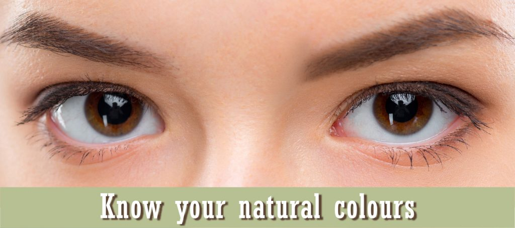 Know your natural colours