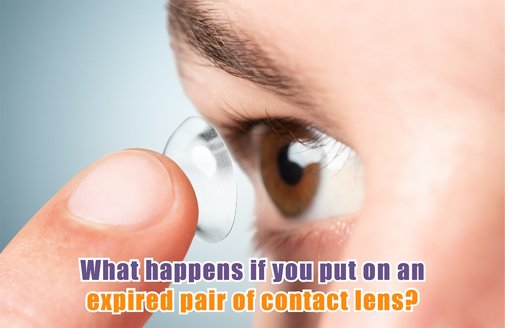 the expiry date contact lenses should be usable?